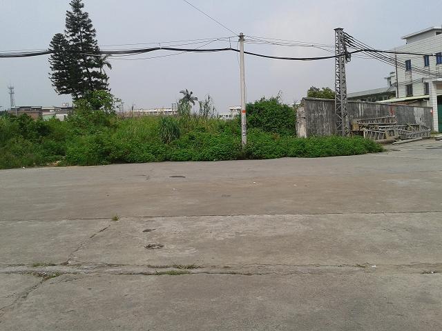 惠州地皮ope手机客户端@长安宵边25亩工业土地ope手机客户端