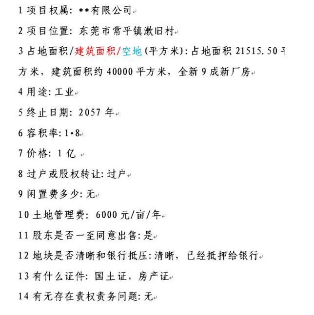 东莞土地ope手机客户端@常平价值1亿ope体育滚球ope手机客户端